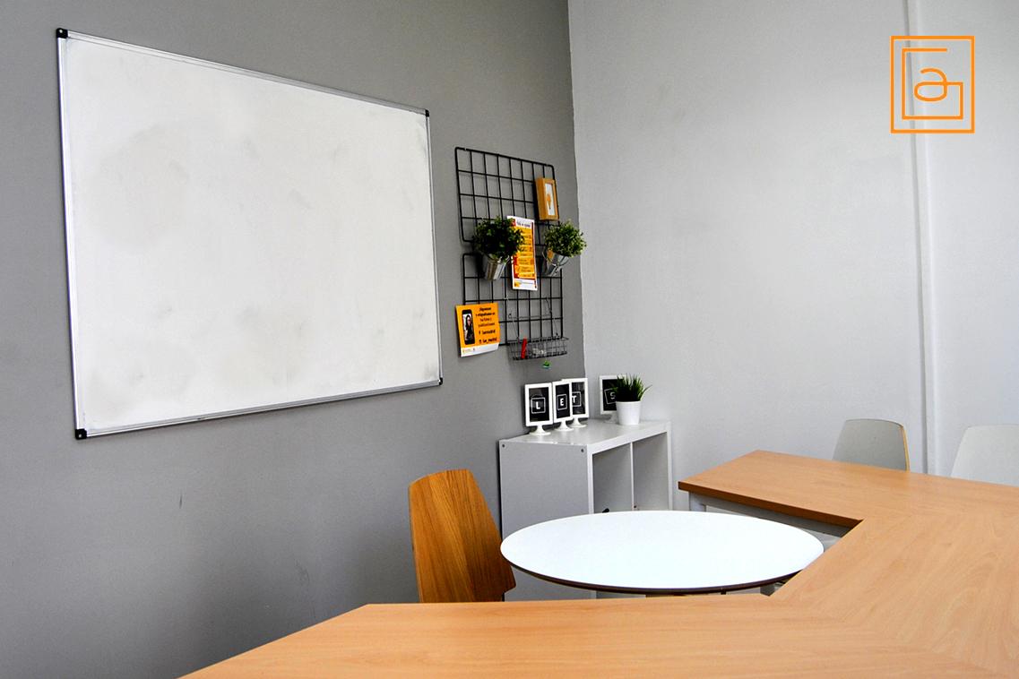Alquiler de las aulas en el centro de Madrid