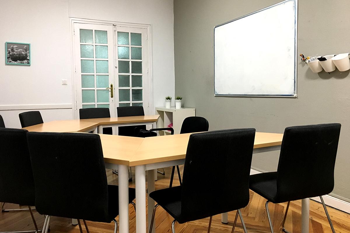 Alquiler de aulas medianas