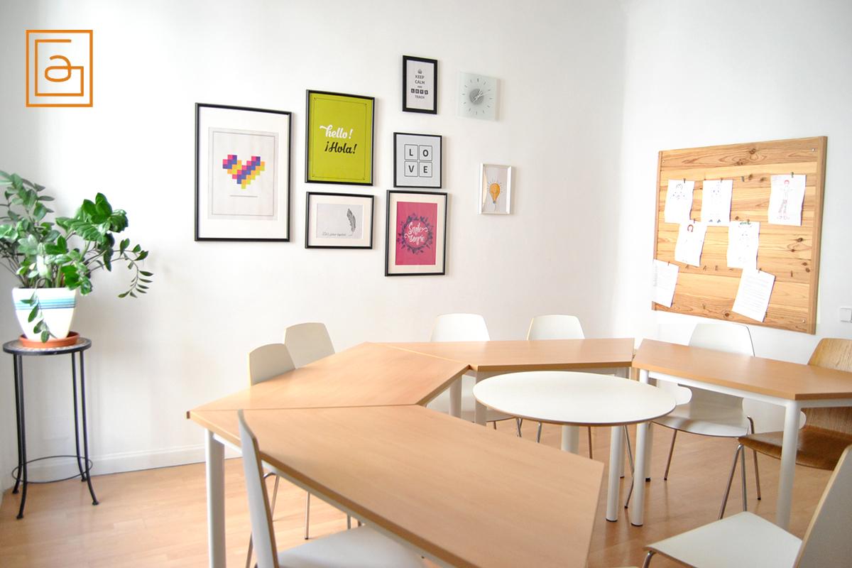 Reservar aulas en Madrid - Book a room
