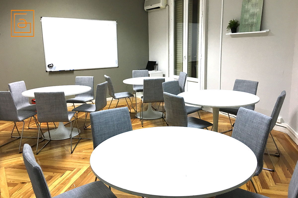 Classrooms for rent in Madrid